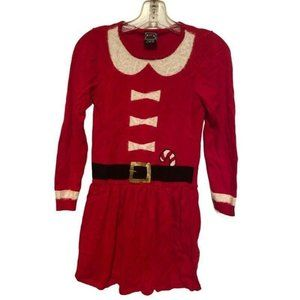 COPY - Well Worn Girls Holiday Sweater Dress